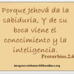 Imagen con Proverbios 2.6
