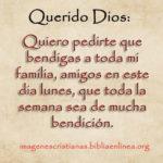 Imagen cristiana: bendice a todos en este lunes