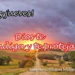 Imagen cristiana para el jueves