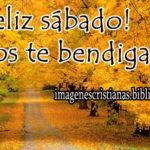 Feliz sábado Dios te bendiga imagen