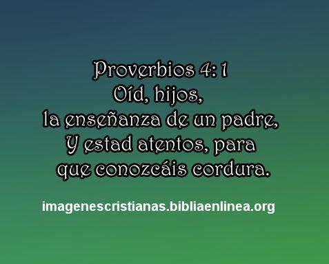 proverbios 4.1