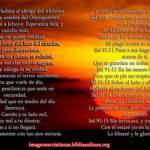 Imagen cristiana con Salmos 91 gratis para descargar e imprimir