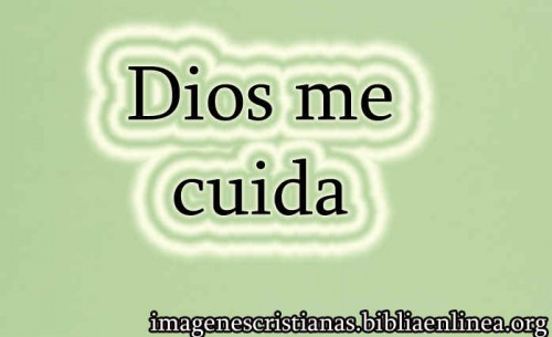 Dios me cuida
