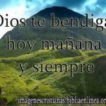 Dios te bendiga en todo momento