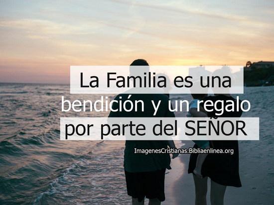 La familia es una bendición