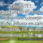 Imagen con Salmos 1.1 Bienaventurado el varón que no anduvo en consejo de malos