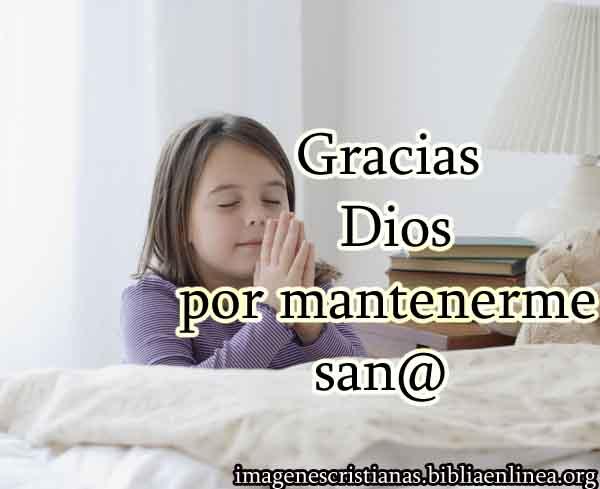 imagen cristiana de agradecimiento por la sanidad