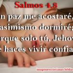 salmos 4-8 ir a dormir