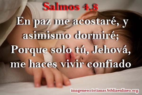 Imagen con salmos 4 8 en paz me acostar imagenes for En paz me acostare