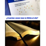 Cuantas veces entras a Facebook y cuantas veces lees la Biblia