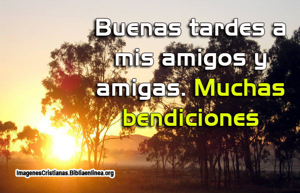 Buenas tardes Imagenes cristianas-2