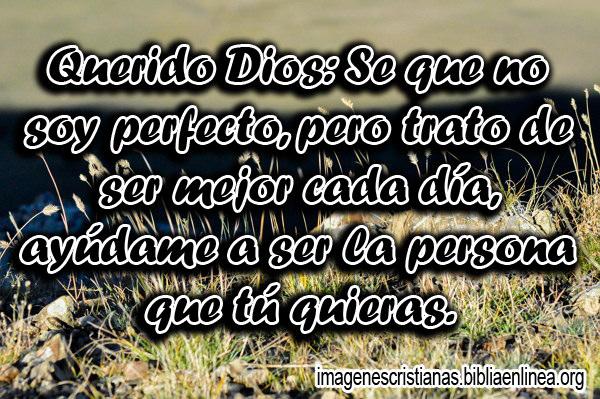 Imagen con Oracion Cristiana
