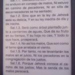Foto de la Biblia con El Salmos 1 Para Descargar y Compartir