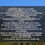 Imagen cristiana con salmos 23 para descargar