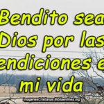 Imagenes cristianas para agradecer las Bendiciones de Dios