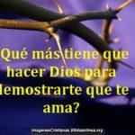 Reflexiones Cristianas del amor de Dios