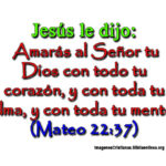 Mateo 22-37