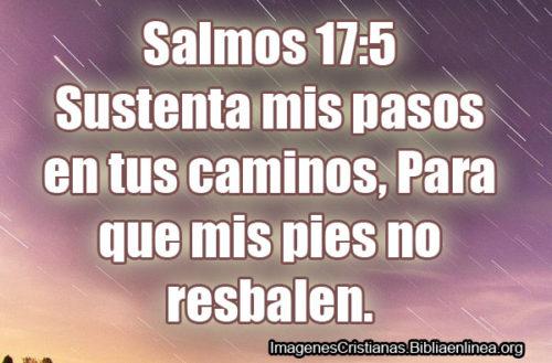 Imagenes Cristianas de Salmos 17-5