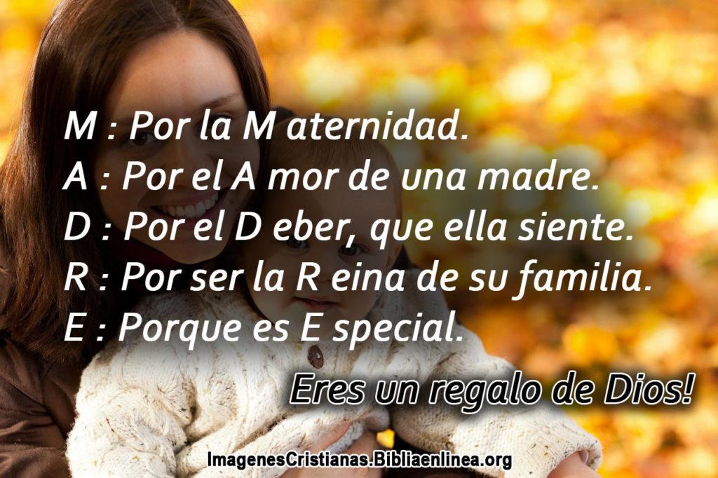 Pensamientos Cristianos para el dia de la Madre 2
