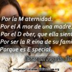 Pensamientos Cristianos para el dia de la Madre