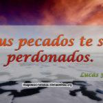 Imagenes y Versiculos del perdon de los pecados
