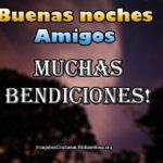 Imágenes de buenas noches Amigos para Facebook (Cristianas)