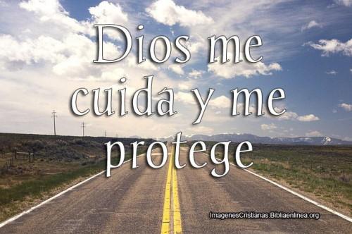 Dios me  cuida y me protege