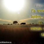 Fotos Cristianas con pasajes de Proverbios