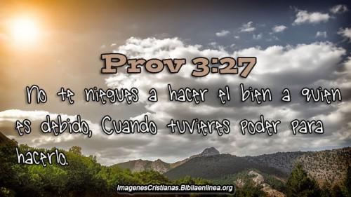 Proverbios Imagenes Cristianas hacer el bien