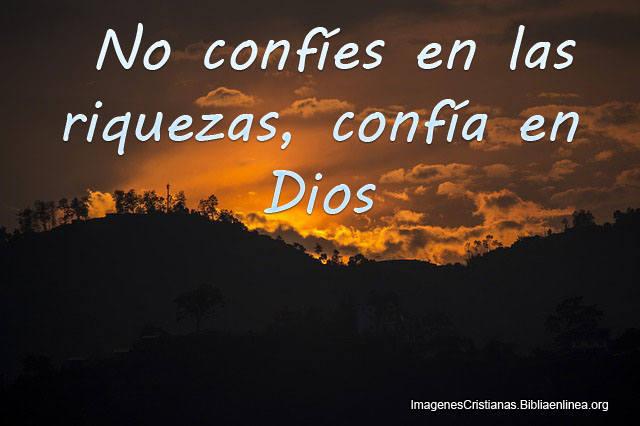 Imagenes de Confiar en Dios