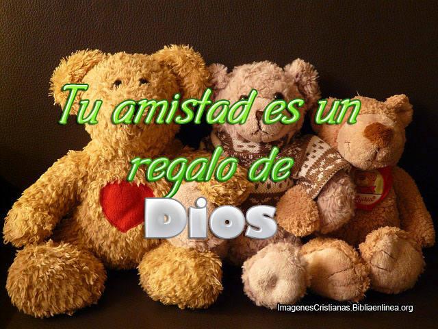 Tu Amistad es un Regalo de Dios