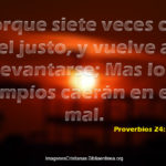7 Veces cae el Justo Imagenes Cristianas