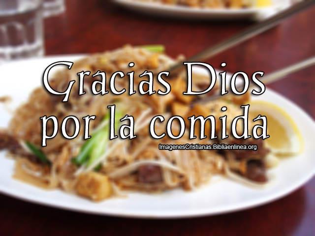 Gracias Dios por esta comida imagenes cristianas