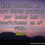 Imágenes Cristianas con Oraciones a Dios