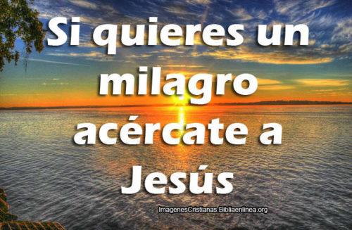 Acercate a Jesus