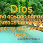 Imágenes Cristianas: Usa el don que Dios te ha dado