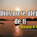 Imágenes que dicen: Dios no se aleja de ti