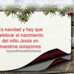 Es Navidad y Hay que Celebrar el Nacimiento de Jesús