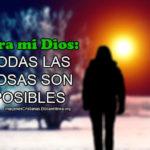 Imágenes con la pregunta ¿Habrá algo imposible para Dios?