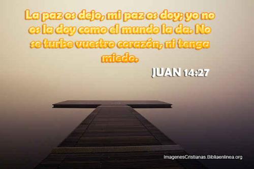 juan 14-27 imagen cristiana
