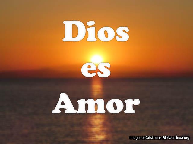 Dios es Amor Imagenes para Facebook