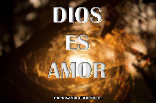 Imagenes Cristianas Dios es Amor