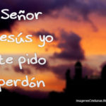 Imágenes Cristianas: Señor Jesús yo te pido perdón
