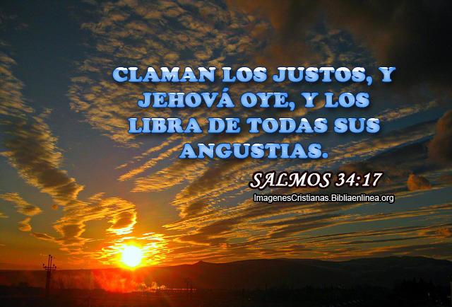 Imagenes de Salmos Claman los justos