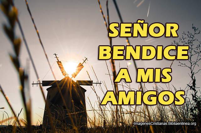 Señor bendice a mis Amigos