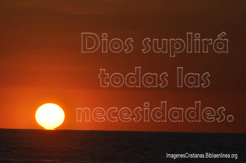 Images Cristianas Dios suplira todas la necesidades HD