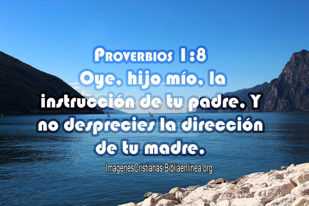 Proverbios 1-8 Obedecer a los Padres