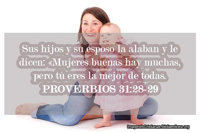Versiculos De La Biblia De Animo: Pasajes De La Biblia Para Madres
