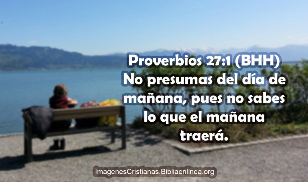 Proverbios para este dia