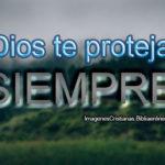 Imagenes, Frases Cristianas: Dios te proteja